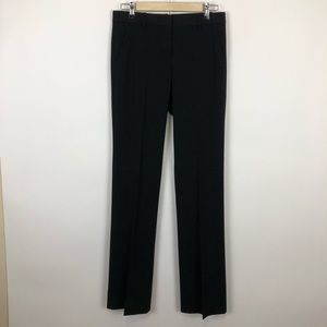 Theory emery 2 black wide bootcut trouser size 6
